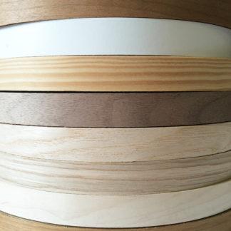Oak Real Wood Veneer Edging Pre-Glued 50mm Wide 50 Meter Roll