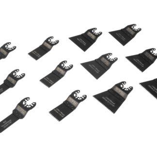 Faithfull 12 Piece Multitool Blade Set