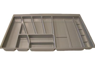Blum Cutlery Insert for Tandembox, NL=450 mm, cabinet width 800 mm: BL422.714IN metallic grey