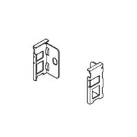 Blum Legrabox N Height Back Fixing Bracket Nickel Plated L&R
