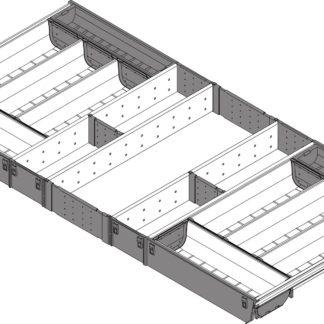 Blum Orga-Line Cutlery Insert, for Tandembox Antaro Drawer, 450 mm x 1000 mm - ZSI.10VEI4