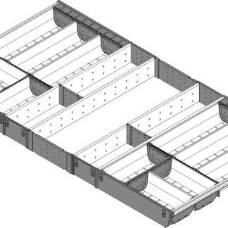 Blum Orga-Line Cutlery Insert, for Tandembox Antaro Drawer, 500 mm x 1000 mm - ZSI.10VEI6