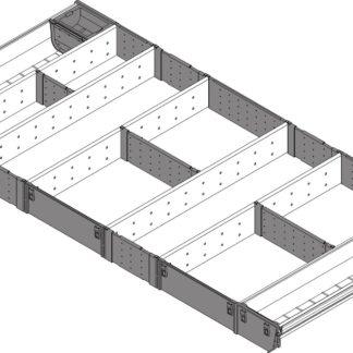 Blum Orga-Line Utensil Insert, for Tandembox Antaro Drawer, 450 mm x 1000 mm - ZSI.10VUI4