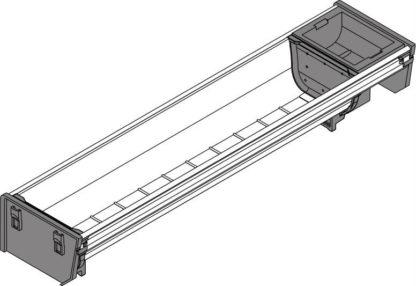 Blum Orga-Line Container, for Tandembox Antaro Drawer, 450 mm x 103 mm - ZSI.450BI1N