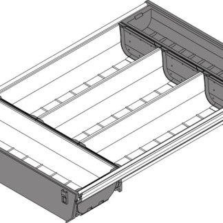 Blum Orga-Line Container, for Tandembox Antaro Drawer, 450 mm x 400 mm - ZSI.450BI3N