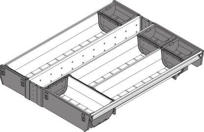Blum Orga-Line Cutlery Insert, for Tandembox Antaro Drawer, 450 mm x 450 mm - ZSI.45VEI4
