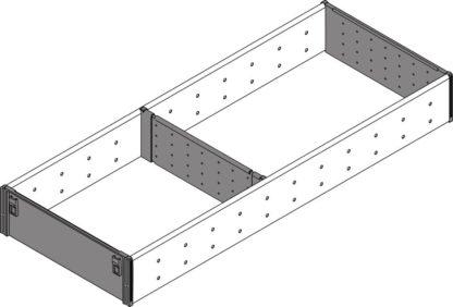 Blum Orga-Line Utensil Divider Set, for Tandembox Antaro Drawer, 500 mm x 194 mm - ZSI.500FI2N