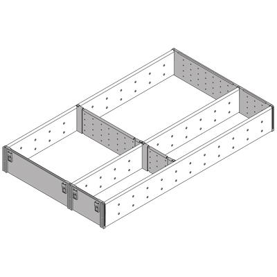 Blum Orga-Line Utensil Divider Set, for Tandembox Antaro Drawer, 500 mm x 291 mm - ZSI.500FI3