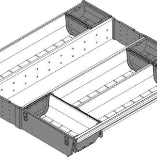 Blum Orga-Line Cutlery Insert, for Tandembox Antaro Drawer, 450 mm x 500 mm - ZSI.50VEI4