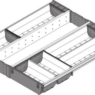Blum Orga-Line Cutlery Insert, for Tandembox Antaro Drawer, 500 mm x 500 mm - ZSI.50VEI6