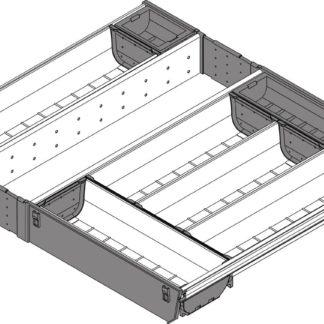 Blum Orga-Line Cutlery Insert, for Tandembox Antaro Drawer, 450 mm x 600 mm - ZSI.60VEI4