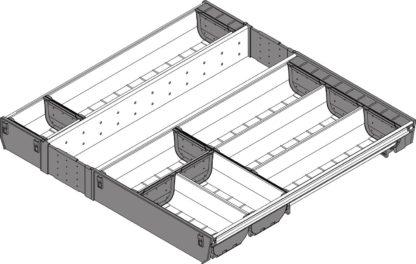 Blum Orga-Line Cutlery Insert, for Tandembox Antaro Drawer,  500 mm x 600 mm - ZSI.60VEI6