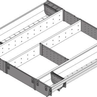 Blum Orga-Line Utensil Insert, for Tandembox Antaro Drawer, 500 mm x 600 mm - ZSI.60VUI6