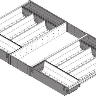 Blum Orga-line cutlery insert for Tandembox Antaro Drawer, 450 mm x 800 mm - ZSI.80VEI4