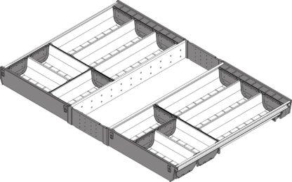 Blum Orga-Line Cutlery Insert, for Tandembox Antaro Drawer, 500 mm x 800 mm - ZSI.80VEI6