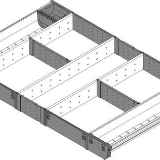 Blum Orga-Line Utensil Insert, for Tandembox Antaro Drawer, 450 mm x 800 mm - ZSI.80VUI4