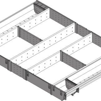 Blum Orga-Line Utensil Insert, for Tandembox Antaro Drawer, 500 mm x 800 mm - ZSI.80VUI6
