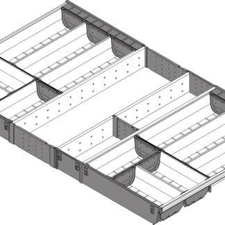 Blum Orga-Line Cutlery Insert, for Tandembox Antaro Drawer, 500 mm x 900 mm - ZSI.90VEI6