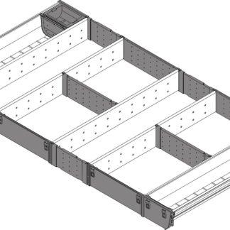 Blum Orga-Line Utensil Insert, for Tandembox Antaro Drawer, 450 mm x 900 mm - ZSI.90VUI4