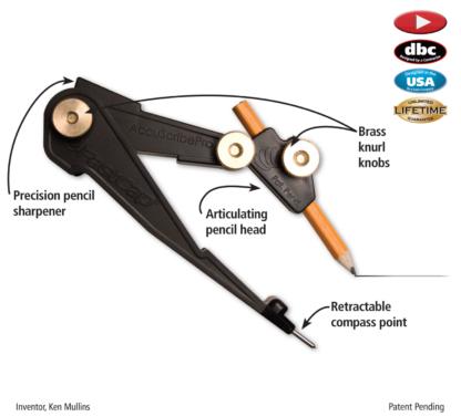 Fastcap Accuscribe Pro Scribing Compass  Tool