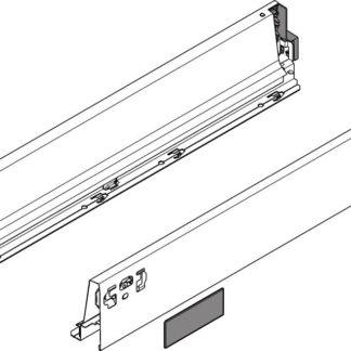 Blum Tandembox Antaro Drawer Side No.359M 65cm Grey
