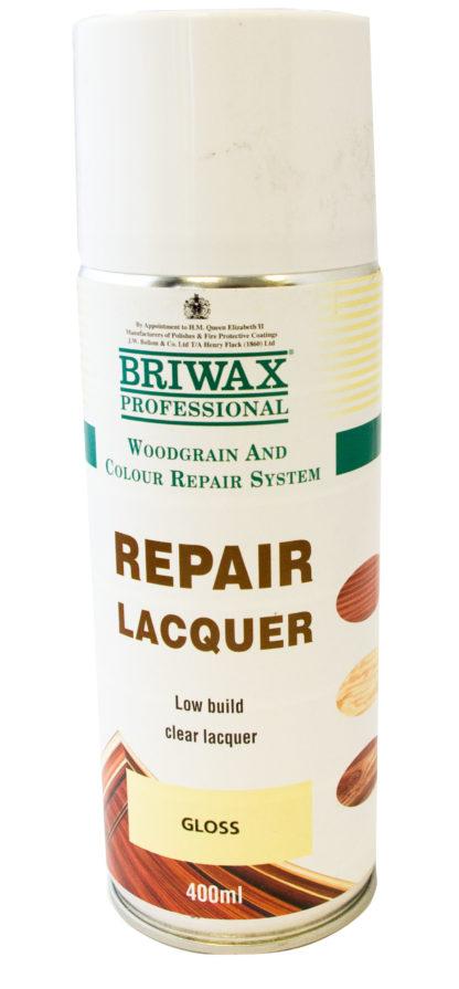 Briwax Gloss Repair Lacquer 400ml Can