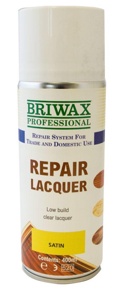 Briwax Satin Repair Lacquer 400ml Can