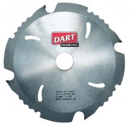 Dart Polycrystaline 190 x 30 x 8 Diamond Blade