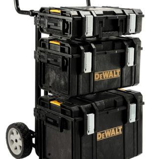 DeWalt DS Tough system Trolley with DS400, DS300 & DS150 Boxes
