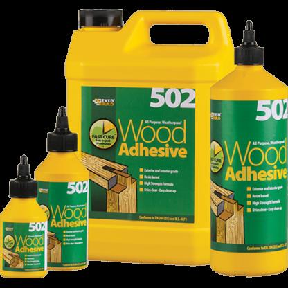 Everbuild 502 Weatherproof Wood Adhesive 5 Litre