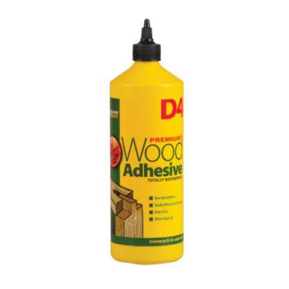 Everbuild D4 Waterproof Wood Adhesive 1ltr