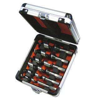 Faithfull Combination Wood Auger Bit 6 Piece Set 10-25mm Stubby