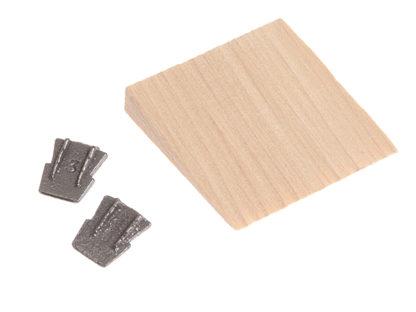 Faithfull Hammer Wedges (2) & Timber Wedge Kit Size 5