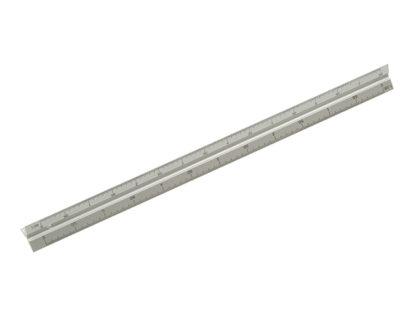 Faithfull Aluminium Rule 300mm Triangle