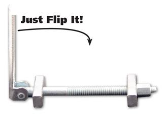 Fastcap Short Flipbolt 3.1/2 Inch Long