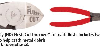 Fastcap Heavy Duty Flush Cut Trimmers