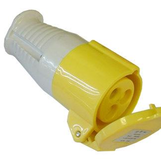 Faithfull Power Plus Yellow Socket 16 Amp 110 Volt
