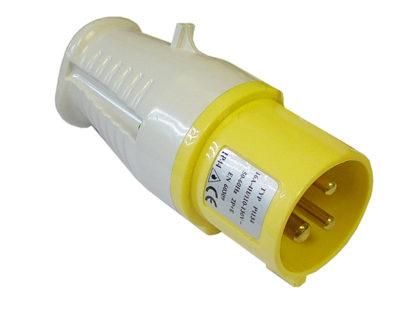 Faithfull Power Plus Yellow Plug  32 Amp 110 Volt