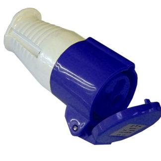 Faithfull Power Plus Blue Socket 240v 16 Amp