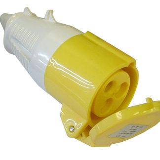 Faithfull Power Plus Yellow Socket 32 Amp 110 Volt