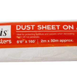 Harris 2m x 50m Polythene Dust Sheet Roll