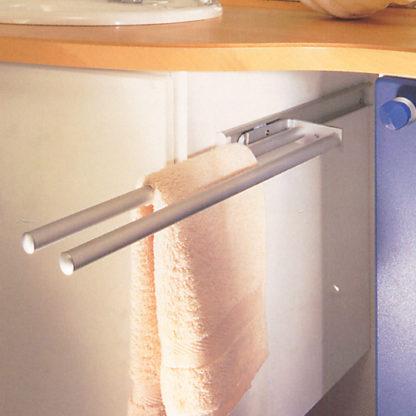 Aluminium 2 Arm Towel Rail
