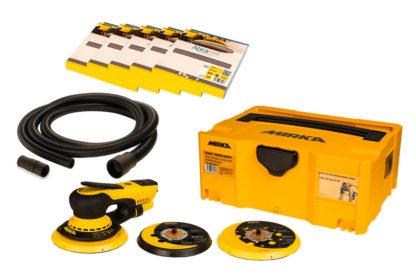 Mirka Deros Deco Kit 150mm Sander Hose And Discs 240V