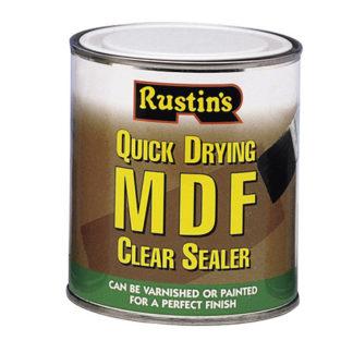 Rustins Quick Dry MDF Sealer Clear 1 Litre