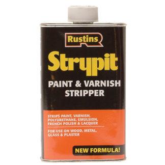 Rustins Strypit Paint & Varnish Stripper New Formulation 500ml