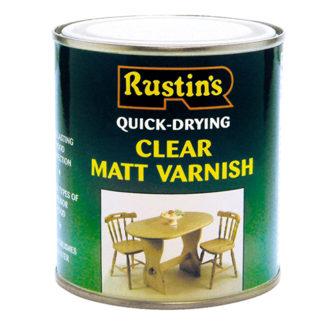 Rustins Quick Dry Varnish Matt Clear 250 ml