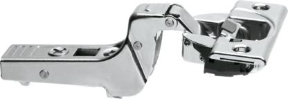 Blum Cliptop Blumotion inset door hinge 95°, screw-on - 71B9750OB Onyx Black