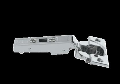 Blum Cliptop Blumotion full overlay door hinge 107°, screw-on - 75B1550 for thin door application