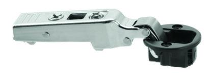 Blum Cliptop full overlay glass door hinge 94°, screw-on - 75T4100