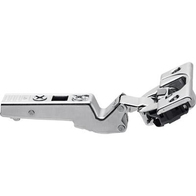Blum Cliptop Blumotion overlay angled hinge -45° III, screw-on - 79B3450